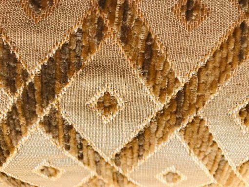 Valjkasti jastuci Plišani rombovi Detalj