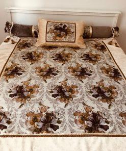 AlNada dekorativni prekrivači za bračni krevet Jesenje ruže