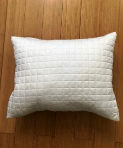 AlNada moderni dekorativni jastuci Beli štepani