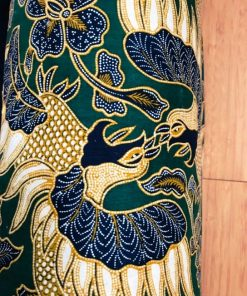 AlNada torbe za jogu Garuda zelena detalj