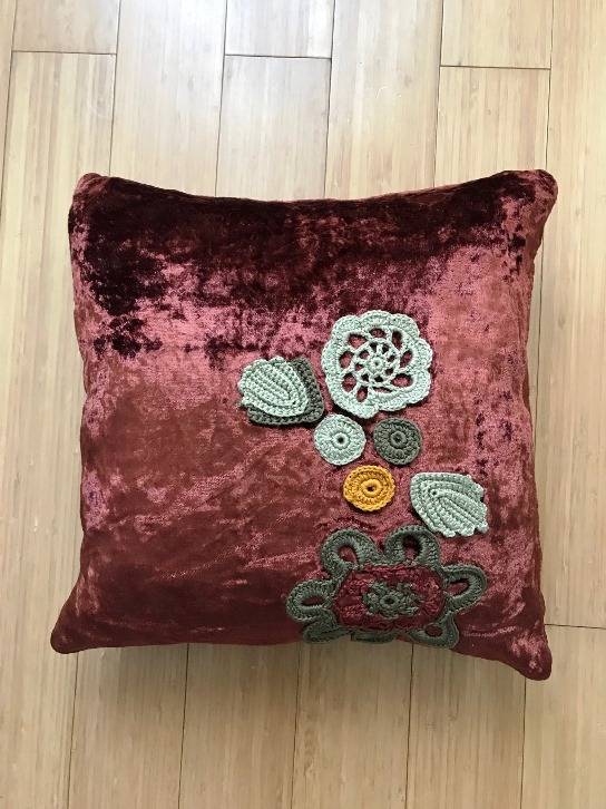 Decorative Pillows Chocolate Brown