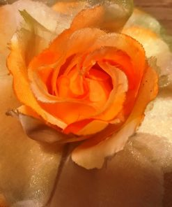 Držači-za-zavese-Žuta-ruža-detalj