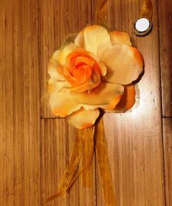 Držači za zavese i drapere Žuta ruža
