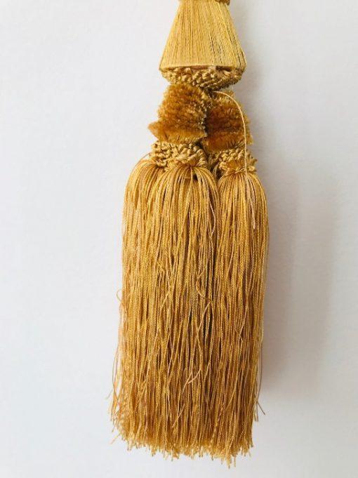 Držači zavesa Zlatni gajtan rese