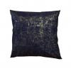 Dekorativni jastuk od pozlaćenog traper platna