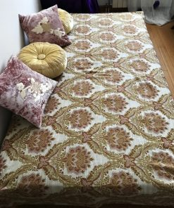 Baroque Double Bed Cover