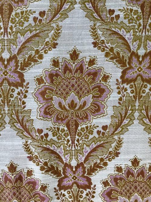 Barokni pokrivač za bračni krevet detalj
