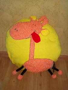Dečiji dekorativni jastuk Žirafa