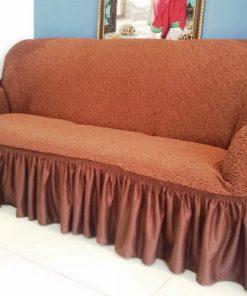 Presvlake za kauč Elastična bordo