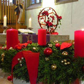 Advent venac za crkveni oltar