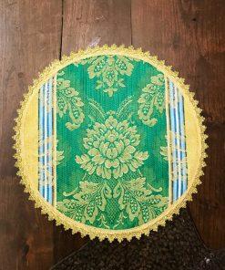 Okrugla stilska šustikla zelena veća