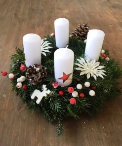 Advent wreath Silver star