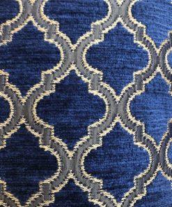 Barok teget zlatni jastuk sa svilenim resama