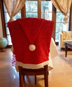 Chair covers Santa Claus