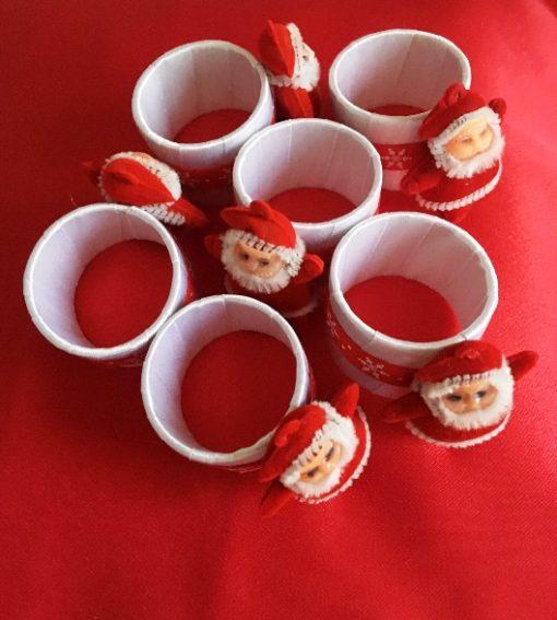 Prstenovi za salvete Deda mraz 1