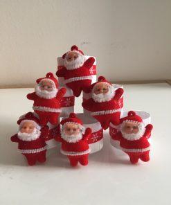 Alnada festive napkin rings Santa Claus