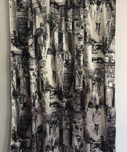 Moderna zavesa Njujork
