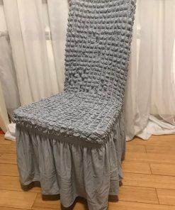 Navlake za stolice streč Sive