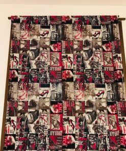 Dekorativna pamučna draper zavesa Urban style
