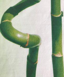 Pamučni nadstolnjak raner bambus detalj