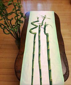 Pamučni nadstolnjak raner bambus za klub sto