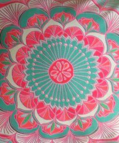 Joga jastuk za meditaciju pastelna mandala