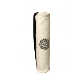 Torba za jogu crno bela mandala Natur